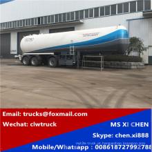 55000liters 15800gallons LPG transporte tanque Semireboque