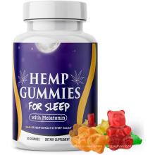 Melatonin Gummy Candy Hemp Oil Gummies for better sleep