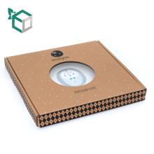 Модники Изготовленная На Заказ Коробка Гофрированной Бумаги С Окном PVC