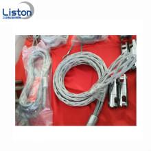 Cuerda de alambre Tirando de agarre Calcetines de malla Media de cable