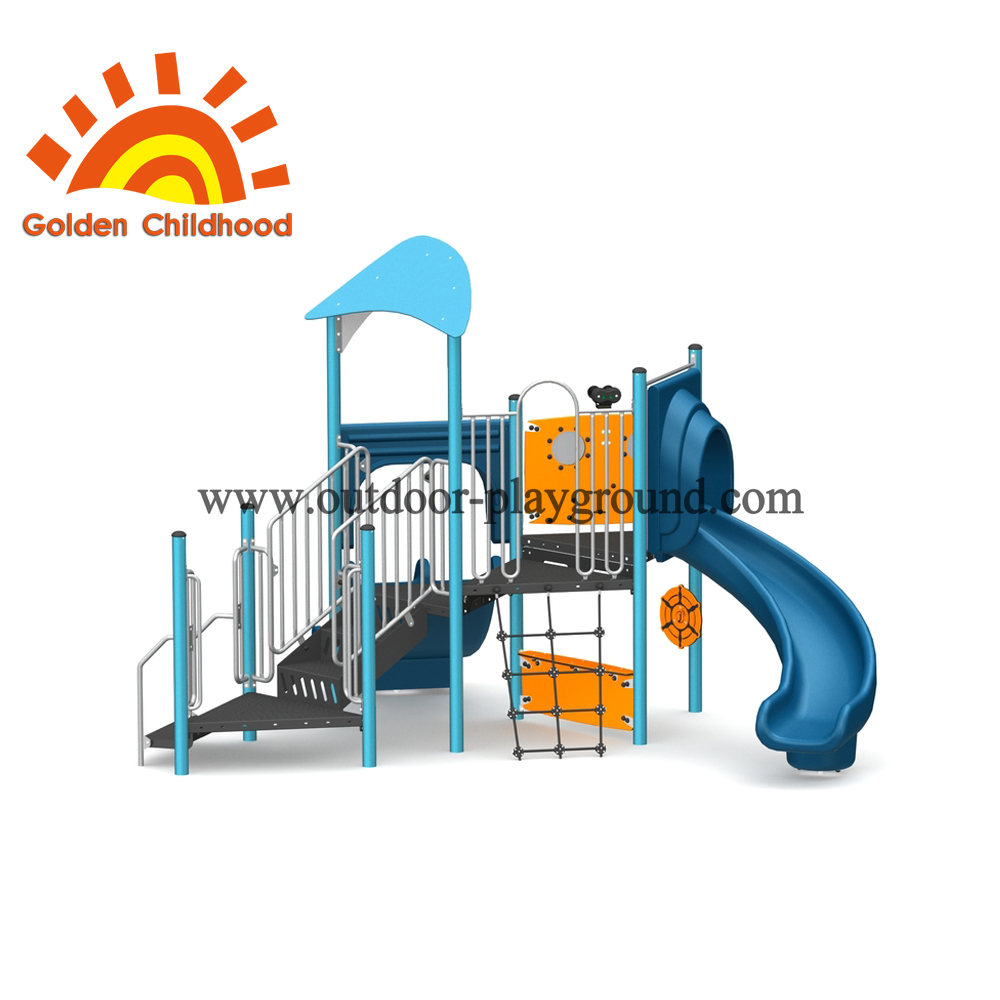 Modern Ocean Style Outdoor Playground Equipment For Children
