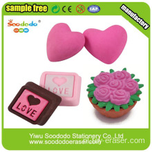 3D Puzzel Romantic Valentine Love Erasers Gifts