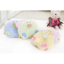 Travesseiro de algodão bonito design para bebê recém-nascido