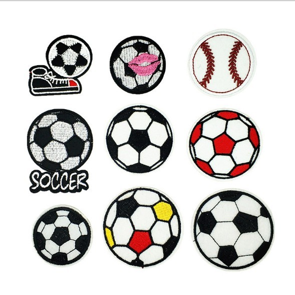 Soccer Embroidery Patcg For Hat