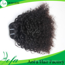 Afro Mongoline verworrenes lockiges Haar Virgin Human Hair Extension