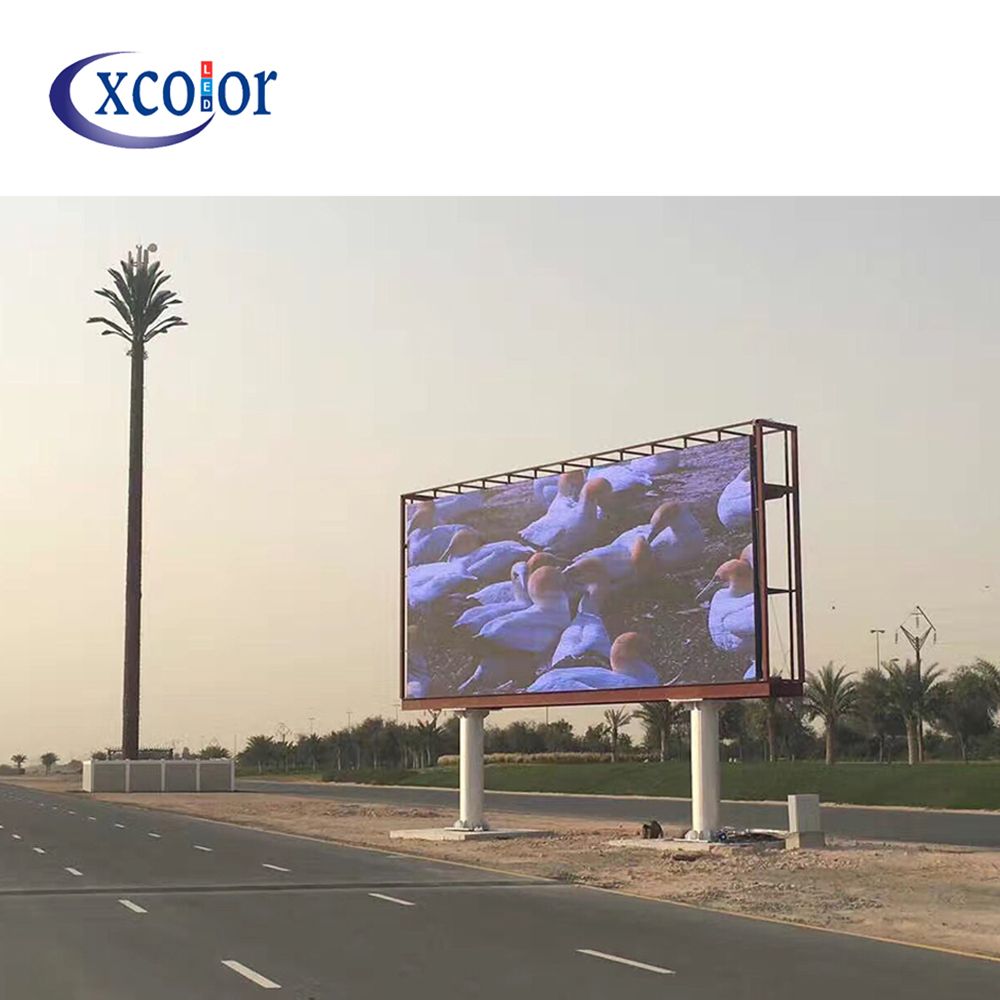 P10 Outdoor Large Advertising Led Video Wall