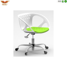 Easy Assemble Guest Mesh Fabric Clerk Office Training Swivel Chairs (HYL200 PW)