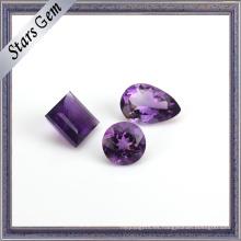 Myterious Purple Natural Amethyst Gemstone para joyería