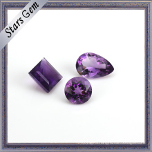 Myterious Purple Natural Amethyst Gemstone for Jewelry