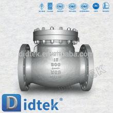 Válvula de retención silenciosa de la fábrica de fundición de calidad confiable de Didtek