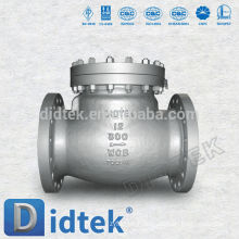 Usine de fonderie de qualité fiables Didtek soupapes de retenue silencieuses