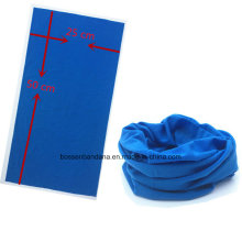 Custom Made One Color Dyed Polyester Multifunctional Outdoor Sports Neck Tube Headscarf