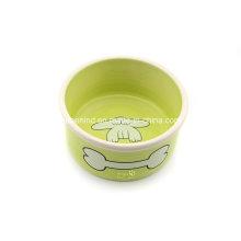 Индивидуальная специальная керамическая чаша для домашних животных