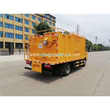 Euro4 emergency suction tank truck for sale