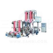Двухуровневая машина для производства полиэтиленовой пленки (CE)