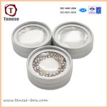 Collier de bijoux élégant Boîte d'emballage ronde
