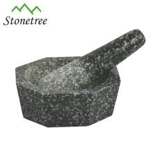 Unique Kitchen Granite Herb/ Spice Mortar And Pestle Set