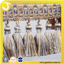 Acrylic Trimming Tassel Curtain Fringe used for cushions lamp