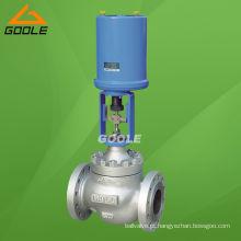 Válvula de controle de globo acionada elétrica (GAZDLP)