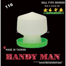 116 Plastic Ball Type Chicks Drinker