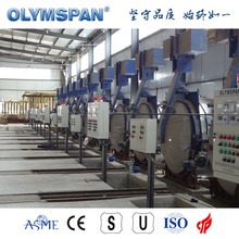 ASME standard cement block treatment autoclave