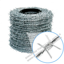 Stainless Steel Barbed Wire 14 gauge