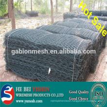 (factory) Gabion mesh/galvanized gabion mesh/PVC coated gabion mesh/zinc-alloy gabion mesh/China gabion mesh