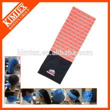 Microfiber wholesale fleece neck tube polyester scarf bandana