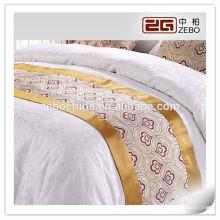 100% Polyester Jacquard Stoff 5 Sterne Hotel Gebraucht Hochwertige Bettläufer