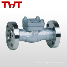"""professional produce API forged steel 1/4"""" inline check valve fuel price"""