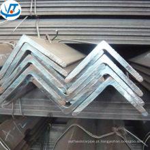 Ângulo de aço laminado a quente do aço A36 do ângulo do carbono do MS da hora