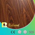 Piso de madera del vinilo laminado de madera laminado en U laminado U-acanalado del roble de la nuez de 8.3mm E1 AC3