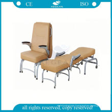 With PU mattress cover for patient room accompany used sleeper sofa