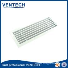 Grille de barre linéaire en aluminium de ventilation de systèmes de CVC