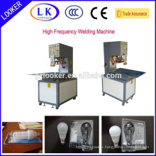 High Frequency LED lamps paper card blister packing machine