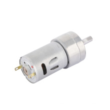 Motor de engranaje de CC de alto par motor de caja de cambios de 24 v para cerradura eléctrica
