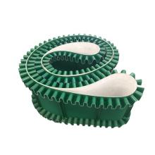 Manufacturer Industrial Welding Diamond Matt Machine Black Green Price Pvc Conveyor Belt