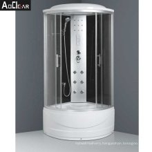 Aokeliya Hydromassage Glass Steam Shower Cabin and Bath Cubicle