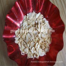 B grade garlic flakes with root