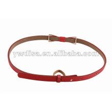 New Arrival Women PU Skinny Belt
