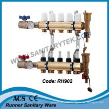 Brass Manifold for Floor Heating System (RH902)