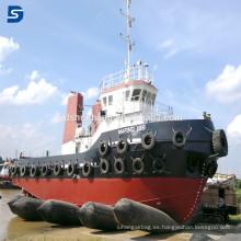 Airbag de goma neumático del equipo marino del precio de fábrica para el lanzamiento de la nave