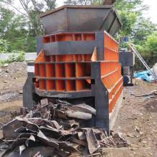 Nova máquina de cisalhamento de sucata hidráulica para contêineres