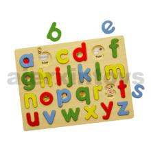 Wooden Lowercase Alphabet Puzzle (80119)