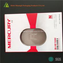 emballage de carte pour le blister en plastique thermofroming