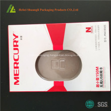 thermofroming plastic blister card packaging