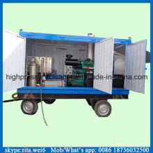 1000bar Movable Industrial High Pressure Water Pipe Cleaner