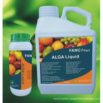 Liquid Alga Organic Fertilizer Seaweed Extract Foliar Fertilizer