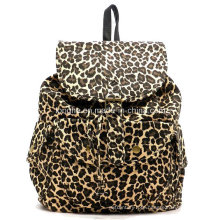 New Arrival Printed Canvas PU Designer Fashion Backpack (ZM097)