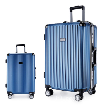 Set di valigie trolley da viaggio per hardside abs pc